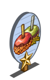 Candied Apple 1 Star Mastery Sign-icon