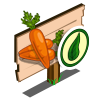 Organic Carrot Mastery Sign-icon