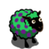 Lime Green Byzantium-Dotted Ewe-icon