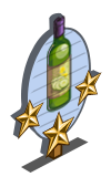 Cucumber Wine 3 Star Mastery Sign-icon