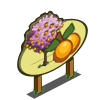 Golden Plum Tree Mastery Sign-icon