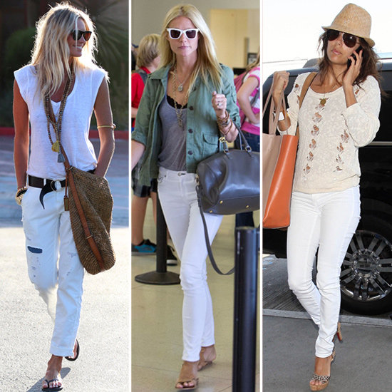 Image - White-Jeans-Celebrity-Pictures-Shopping.jpg   Fashion Wiki ...