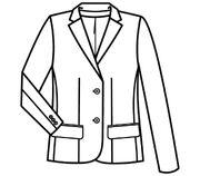 1432.7000-schets blazer