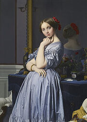 220px-Jean-Auguste-Dominique Ingres - Comtesse d'Haussonville - Google Art Project