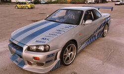 Nissan Skyline - 2F2F