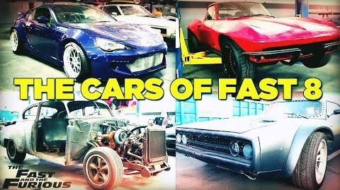 The Cars of Fast & Furious 8 FAST8