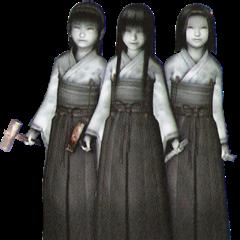 Shigure, Hisame and Minamo