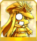 Gold Chibi Nobu Icon