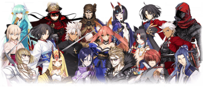 Onigashima Servants