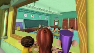 Main 3 peek into the classroom