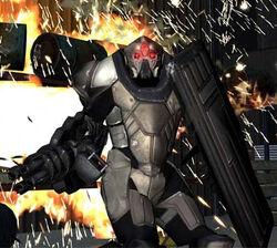 Replica Heavy Riot Armor