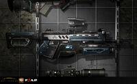 Assault rifle Another Concept art