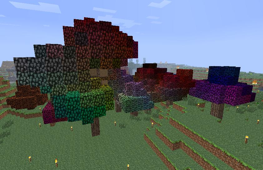 Rainbow Oak Tree Feed The Beast Wiki Fandom Powered By