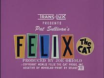 Felix the Cat (TV series) title