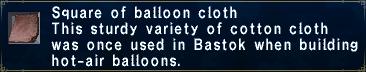 BalloonCloth