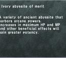 Ivory Abyssite of Merit