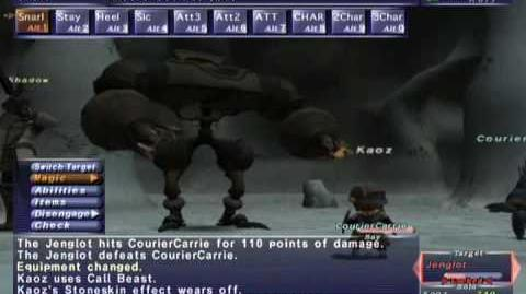 FFXI NM Saga 163 Jenglot vs BST solo Full Battle