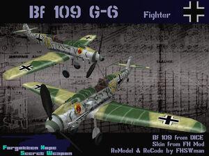 BF109G6