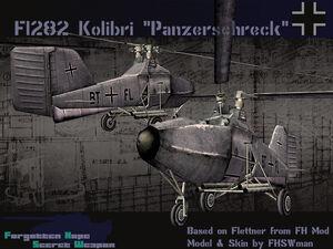 Flettner Fl 282 Panzerschreck
