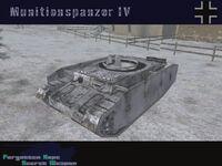 MunitionspanzerIV