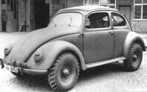 VW Type 87 Beetle Kommandeurwagen