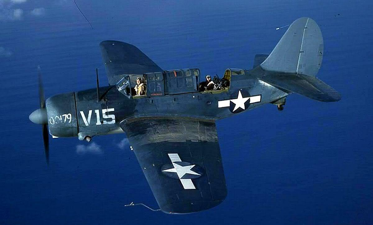 The Pacific War Online Encyclopedia: SB2C Helldiver, U.S. Carrier ...
