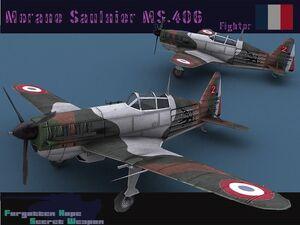 Moraine Saulnier MS 406