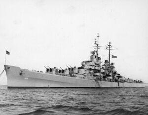 USS Spokane CL120