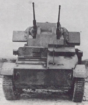 Light Tank AA Mk V Cr