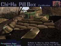 Type 97 Chi-Ha Pillbox