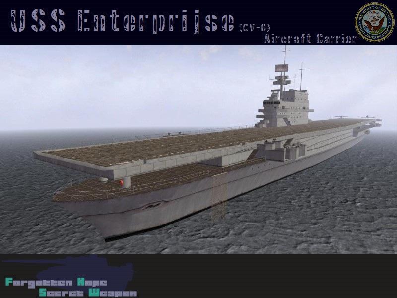 uss enterprise  cv