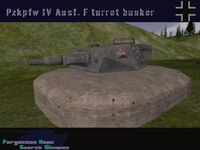 Pzkpfw IV Ausf F1 turret