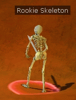 Rookie skeleton