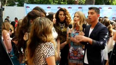 Fifth Harmony at the Teen Choice Awards 2013