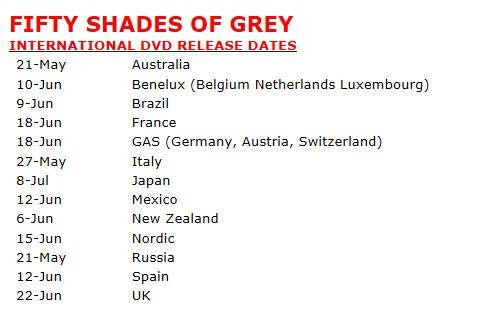 50 shades of grey movie release date in Perth