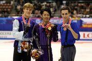 2007 NHK Trophy Men's Podium