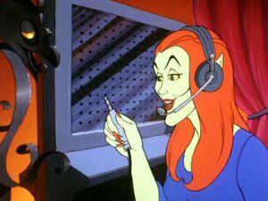 Ghost Telephone operator