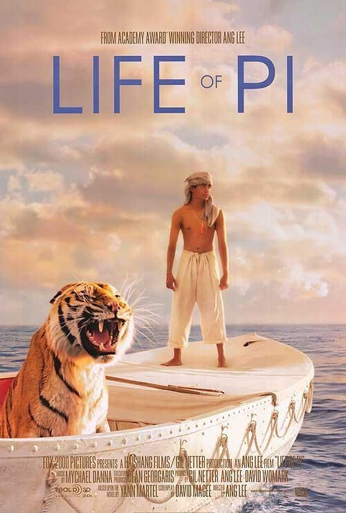 Life of Pi 2012 3D Full Length Movie