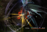 FFX dark valefor energy blast