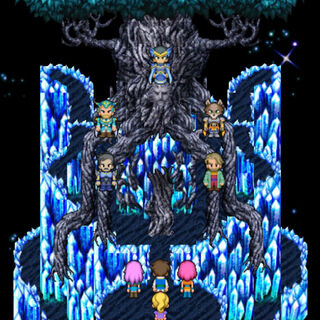 Dorgann's spirit appears before the final battle.