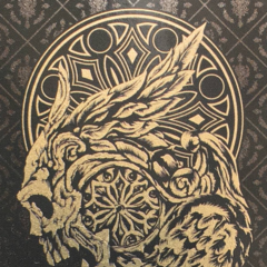 Winged-skull, the symbol of Lucis.
