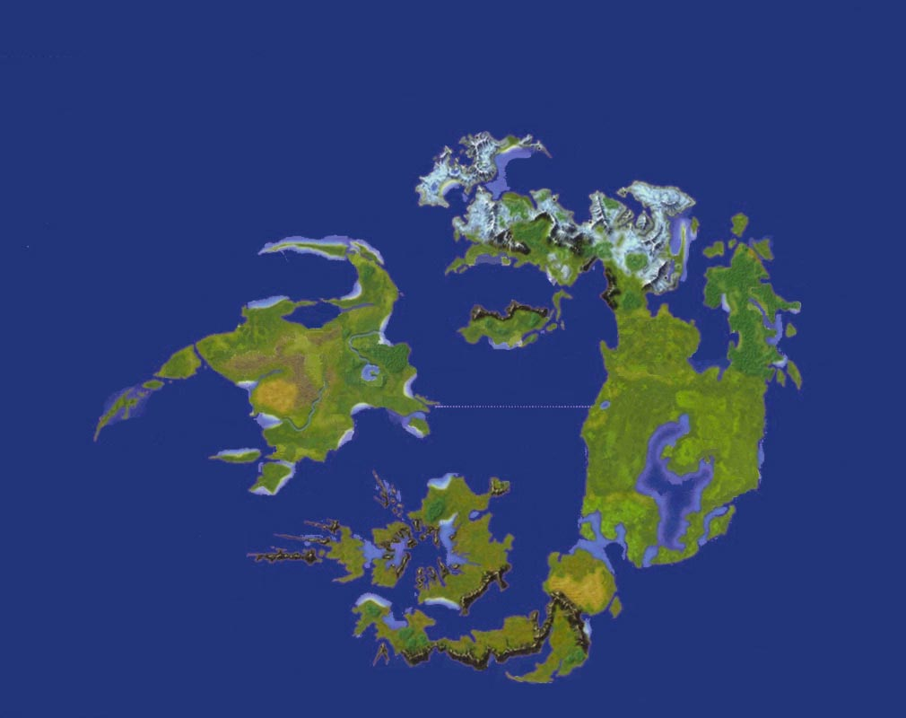 World map final fantasy wiki fandom powered by wikia final fantasy viii world map gumiabroncs Image collections