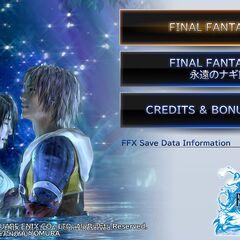 <i>Final Fantasy X HD Remaster</i> (PS Vita).