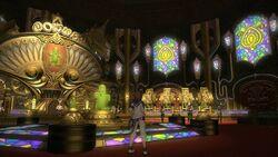 FFXIV Gold Saucer Main Hall