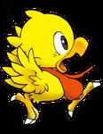 Itadaki-Chocobo Running