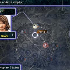 Yuna's Sphere Grid (PS2).
