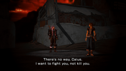 Caius and Noel in the Dying World