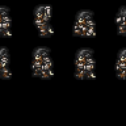 Set of Zeid's sprites.