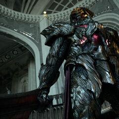 General Glauca as he appears in <i>Kingsglaive: Final Fantasy XV</i>.