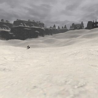 The snowy plains of Xarcabard.